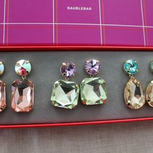 Baublebar Earrings Set